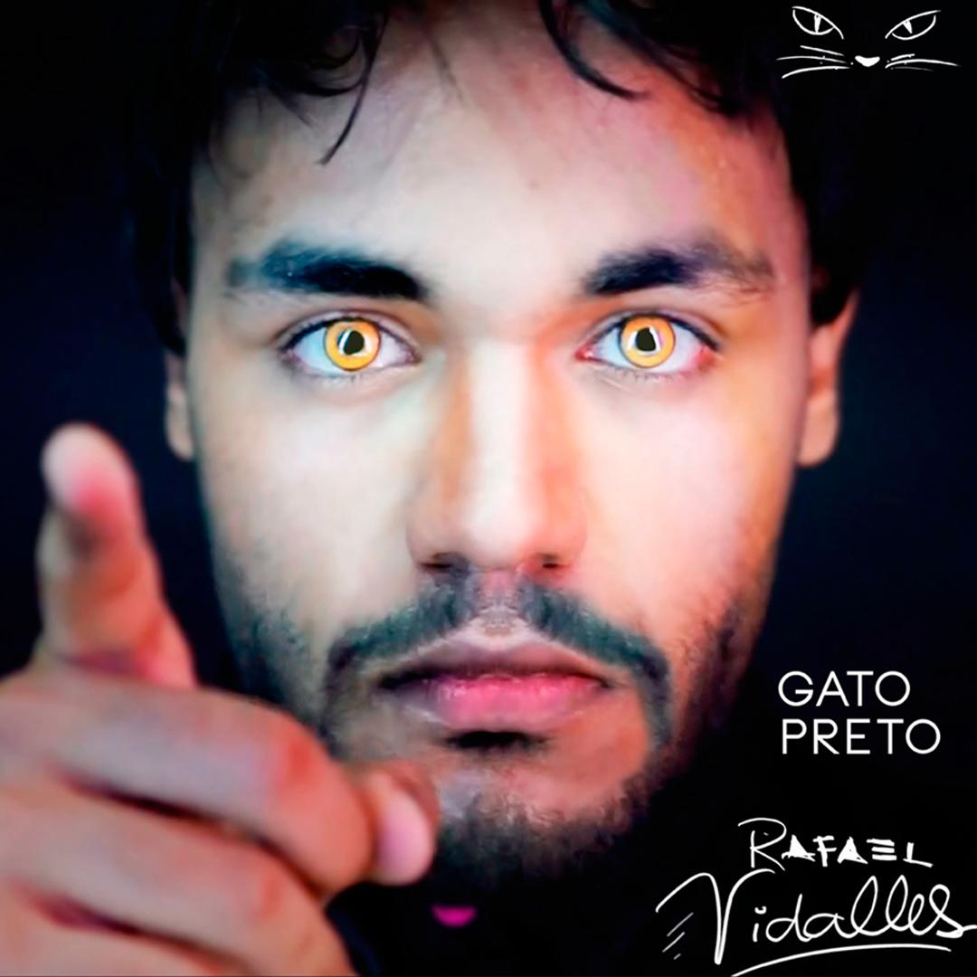 Conheça o pop oitentista do cantor e artista plástico Rafael Vidalles